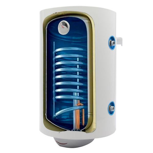Kahesüsteemne el. boiler 150L vertikaalne, spiraal 0,25m2