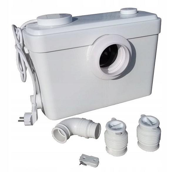 WC pump SANIBO 5 H-9,5m, 150l/min, 600W