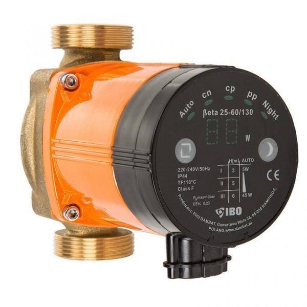 Tsirkulatsiooni pump tarbeveele OHI 25/60 130mm