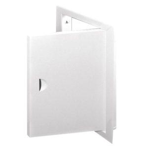Kontrollluuk metallist valge 40x50cm