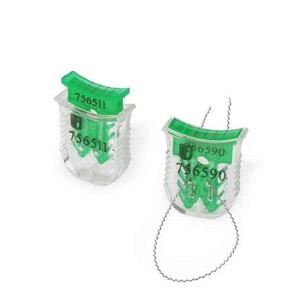 Plomm CLICK-LOCK VS plastmassist seitsmekohalise identifitseerimisnumriga