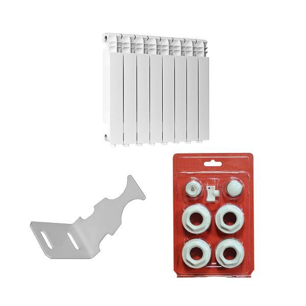 Alumiinium radiaatorid ja nende tarvikud