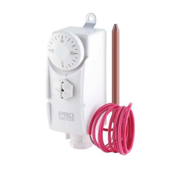 Kontakttermostaat kapilaariga 10-90°C