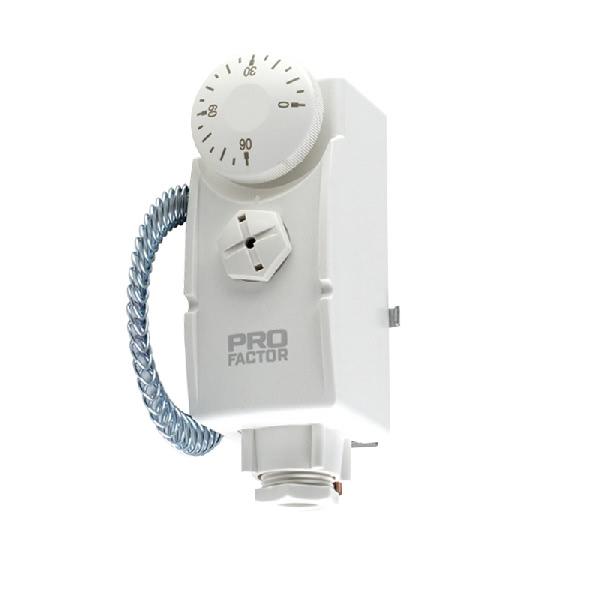 Kontakttermostaat torupealne 10-90°C