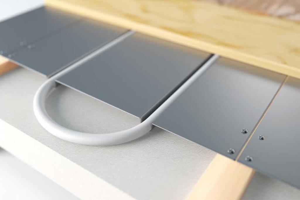 Alumiinium soojusjaotusplaat põrandaküttele